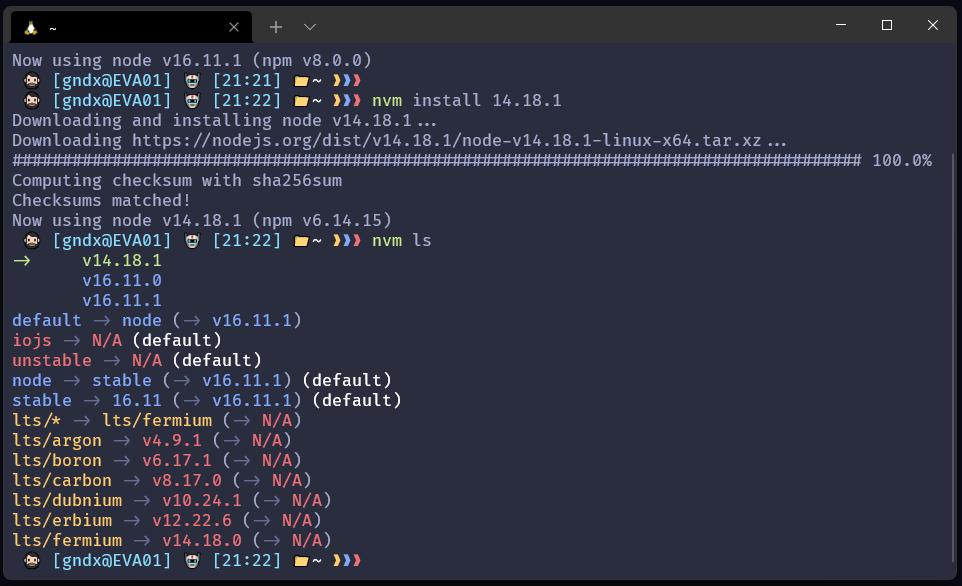 instalar nvm en Ubuntu